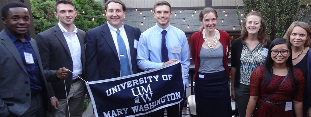 Mary Wash Alumni at a Regional Network event in D.C.