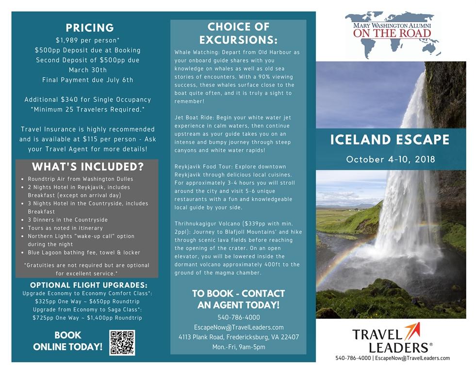My MaryWash - Iceland Brochure